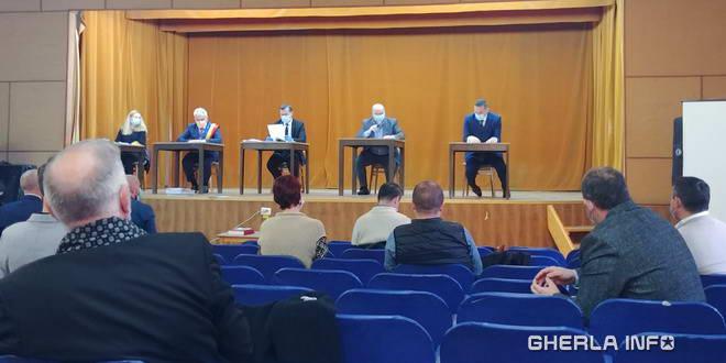 gherla sedinta consiliu local viceprimar