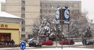 dej spital iarna zapada