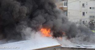 incendiu garaj gherla