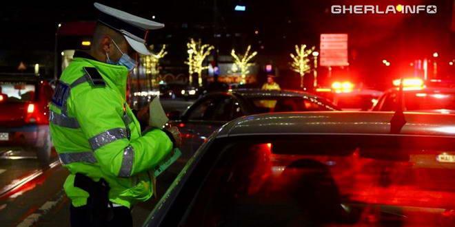 sofer politie covid noapte