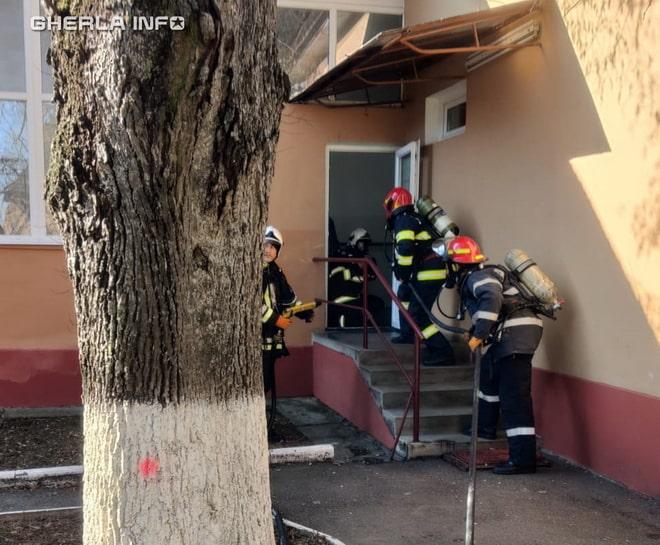 pompieri spital gherla dej