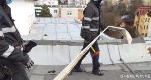 pompieri acoperis tabla cluj bloc
