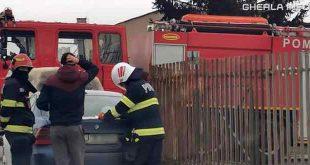 pompieri masina incediu cluj