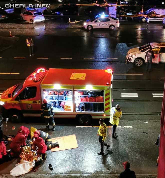 accident cluj mortal bd muncii