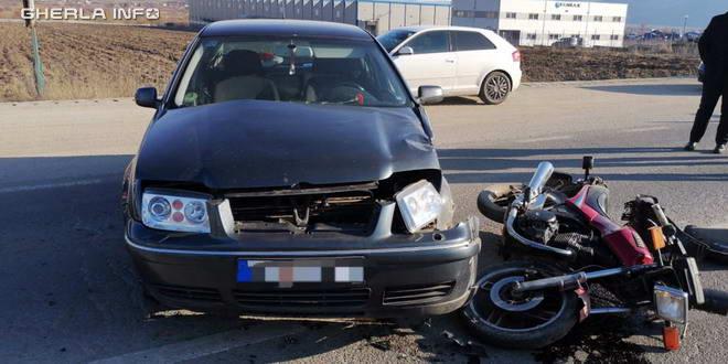 accident bistrita gherla motocicleta