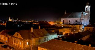 gherla noapte biserica