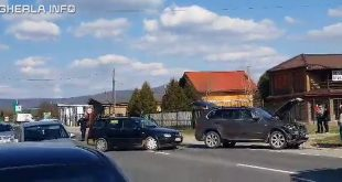 accident gherla strada clujului bmw volkswagen