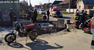 accident motociclist motocicelta nires mica mortal
