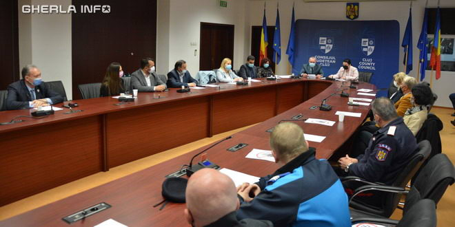 consiliul judetean cluj autoritate ordine publica
