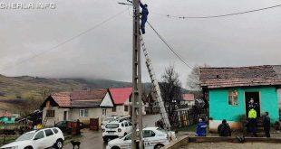 curent stalp electricitate politie pintic