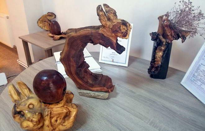iepure lemn sculptura galgoczy gherla paste