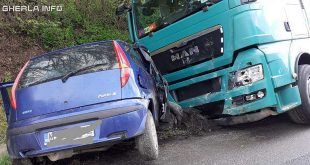 accident dumbrava cluj tir fiat
