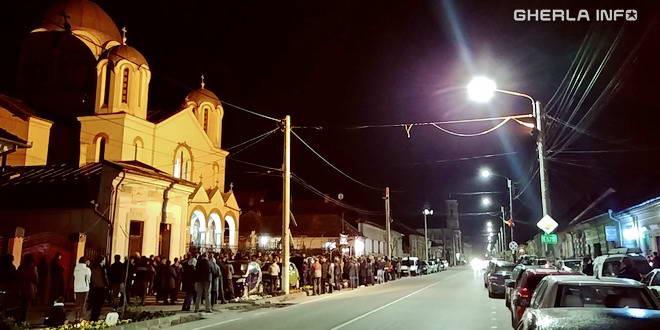 inviere gherla biserica paste
