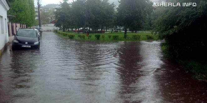 gherla inundatie ploaie