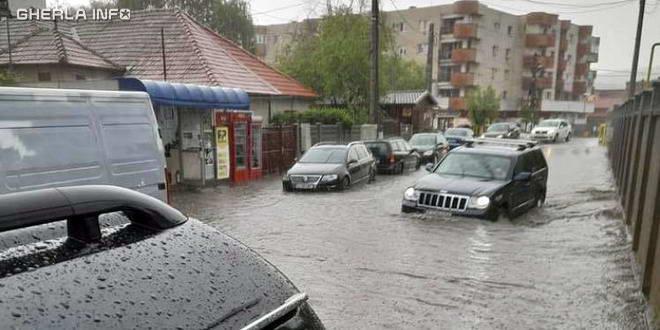 gherla inundatie
