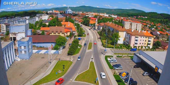 gherla panorama webcam live video in direct cluj romania