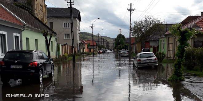 inundatie gherla str crisan