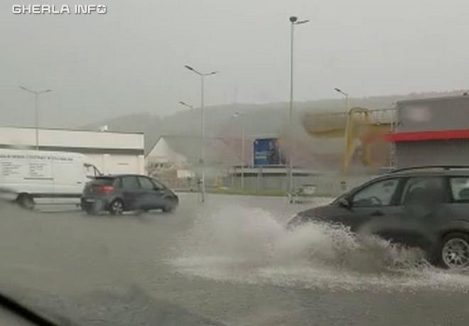 inundatie gherla kaufland