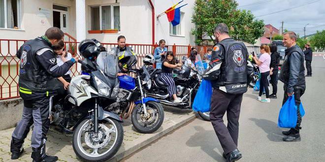 motociclisti rebel riders gherla copii utf