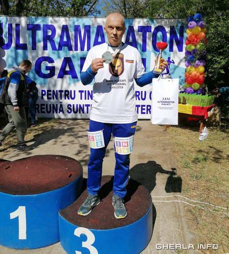 ultramaraton galati vicentiu hossu
