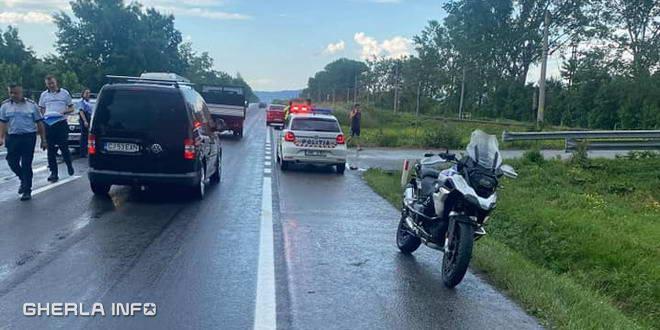 accident motociclist jucu baia mare