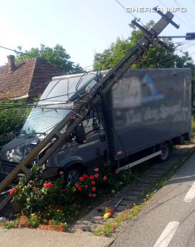 accident iclod camion