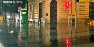 cluj furtuna inundatie
