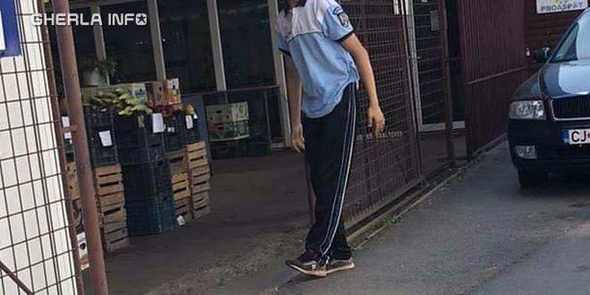 minor politie tricou gherla
