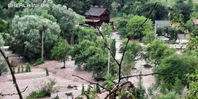 ocolisel inundatie cluj