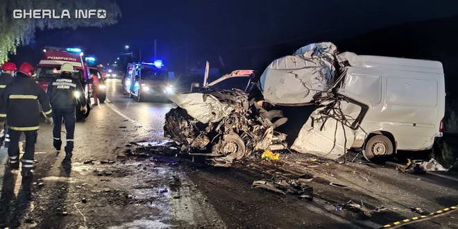accident mures valenii autoutilitare cluj