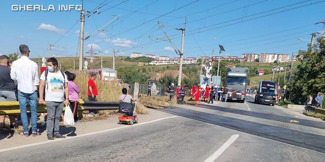 accident tren apahida