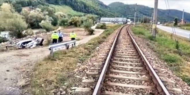 accident masina tren feldru bistrita nasaud