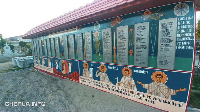 cimitir gherla monument detinuti politici