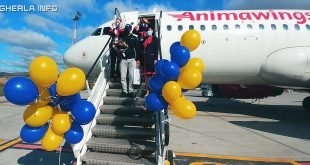 cluj aeroport avion animawings calator 1 milion