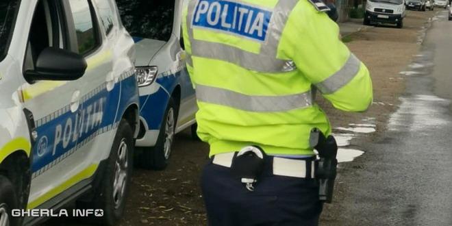 politie masina politist